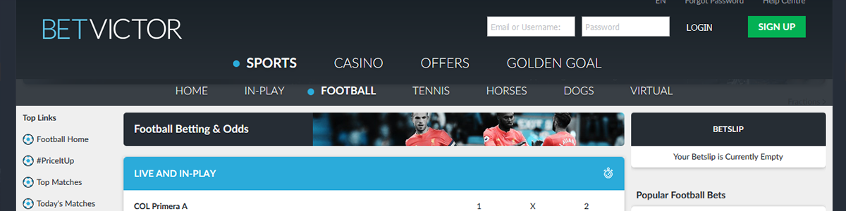 Best football betting sites in the world